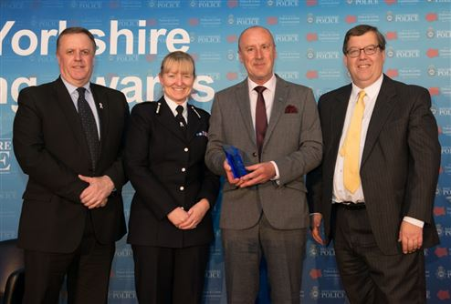 West Yorkshire Police Award for Bradford BCRP Staff